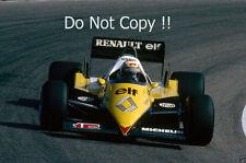 Alain Prost Renault RE40 Dutch Grand Prix 1983 Photograph