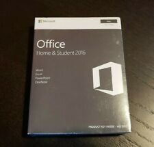 NEW Microsoft Office Home & Student 2016 Mac Word Excel PowerPoint OneNote
