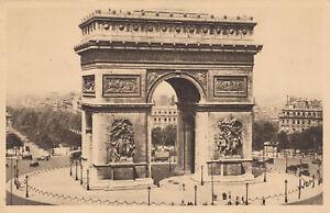 Vintage FRENCH SEPIA POSTCARD: PARIS..en FLANANT Edition d'ART YVON Series 1.144