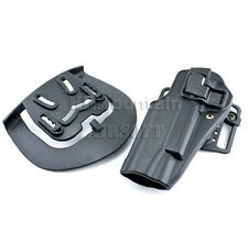 Holster /w Belt Loop & Paddle for M1911 (Left Hand) / Black (KHM Airsoft)