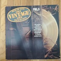 VINTAGE Gold Pack Of Hits Vol.5 NM Vinyl LP VG++ Record Cover