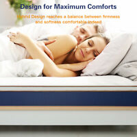 BedStory Queen Spring Foam Mattress 10 inch Memory Bed in a Box bedroom