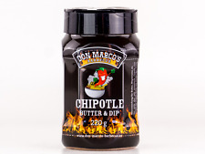 Don Marco's Chipotle Butter & Dip Rub Barbecue Gewürzmischung Grillbutter 220g