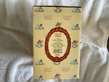 """Laura's Attic """"Bless the Beast"""" Children and Donkey Figurine New in Box with tag"""