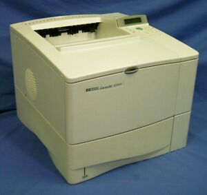 HP Laserjet 4100dtn 128MB 25PPM Duplex Network Laser Printer New Toner Warranty