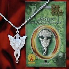 LOTR Arwen's Evenstar Necklace Halloween Costume Jewelry Rubies #6007 NEW