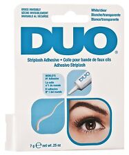 DUO False Eyelash Glue Striplash Adhesive Dry Invisibly White/Clear 0.25oz