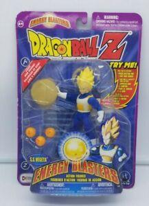 Super Saiyan Vegeta Energy Blasters Dragonball Z Figure SS (Irwin 2001)