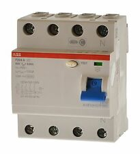 ABB F204 A-63 /0,03 Fi 63A  Fehlerstromschutzschalter 2CSF204101R1630