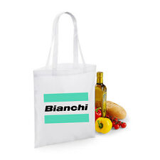 Bianchi Shopping Bag cycling New Vintage Life WHITE Eroica bike christmas xmas