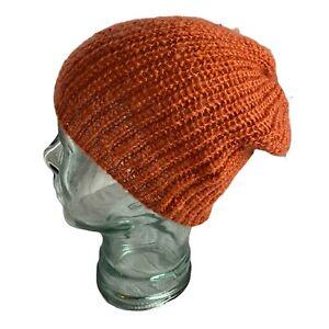 Billabong Ladies Wooly Hat - Paprika Burnt Orange - One Size -  NEW!!