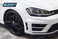 EZM VW Golf R MK7 Bumper Vent Insert Indent Stickers Decals GLOSS BLACK