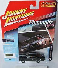 Classic Gold - 1967 PLYMOUTH BARRACUDA - dark green - 1:64 Johnny Lightning
