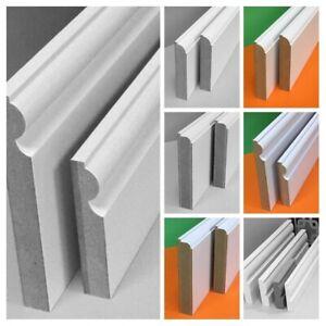 Primed MDF Skirting & Architrave Board - 1000mm