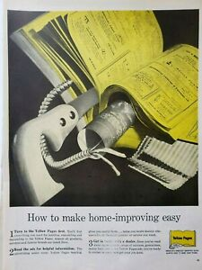 Lot of Vintage Yellow Pages Print Ads