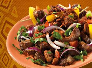 African Spice Blend Seasoning Powder Rub Suya West African Street Food 50g