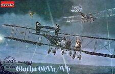 GOTHA G.V A/B KASTENSTEUEZUNG - WW I STRATEGIC BOMBER (GERMAN MKGS) 1/72 RODEN