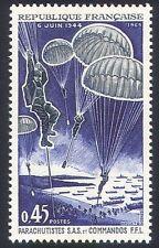 Francia 1969 paracaídas/barcos de la Segunda Guerra Mundial// Día D/Día D aterrizajes/sas/comandos 1v (n23241)