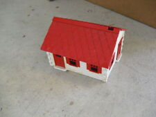 Vintage Plastic O Scale Plasticville White Red House