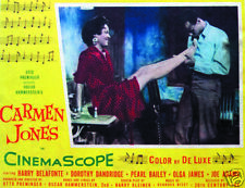 Carmen Jones Harry Belafonte Vintage movie poster