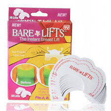 Bare Lifts Instant Breast Lift Support Invisible Bra Adhesive Tape 10 lifts