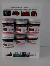 Repair kit, 3 Colours Of Your Choice, Leather filler, Repairs Leather Cracks