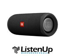 JBL Flip 5 Portable Waterproof Speaker - (Black) - Authorized Dealer