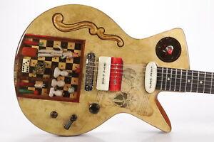 "Spalt Instruments R1602 ""Pierrot's Nightmare"" 2019 NAMM Post-Show Guitar #35682"