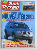 TOUT TERRAIN N° 151 /GRAND CHEROKEE CRD/ ARRAS-DAKAR 2002/ PAJERO SPORT EXCEED