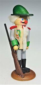 "Vtg Steinbach West Germany Hofjager 11 Wooden Nutcracker 5"" Soldier Figurine"