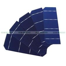 80PCS 2x6mm 156x52mm PV Mono Solar Cell Sun Power for DIY 140W Solar Panel Toy