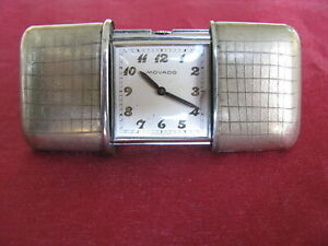 Movado Ermeto Antique Swiss Travel Purse Watch, ca 1920s