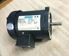 Leeson Cat No 101767.00 Electric Motor 1/4 Hp 1725 Rpm 3Ph 208-230/460 Volt
