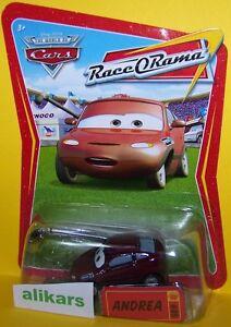 ANDREA Giocattolo Mattel Cars 1:55 Disney Pixar Autos Modellini Metallo Diecast