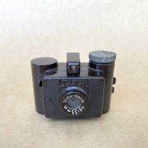 Sida Vintage Bakelite Subminiature Film Camera W/ Sida Optik 35mm 1.8 - NICE