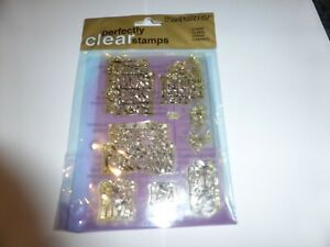 9  CLEAR RUBBER STAMPS CHRISTMAS IDEAL FOR CARD MAKING