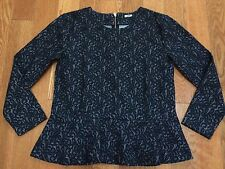 NWT J.CREW LACE 3/4 SLEEVE TOP SIZE S
