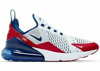 New Nike Air Max 270 USA White Red Blue Running Shoes Mens sizes CW5581 100