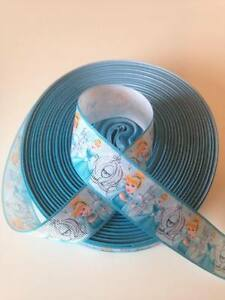 """Cinderella Ribbon 1"""" (25mm) wide 1m is only £1.49 NEW"""