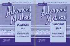 Rubank Saxophone Method, 2 Book Set, Advanced Volumes 1 and 2, Rbk Sax Advanced