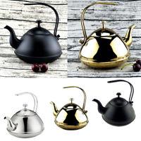 Tea Kettle Pot - Teapot with Mirror Finish - Stove Top Tea Maker Teapots -