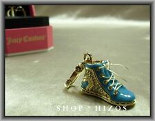 AUTHENTIC JUICY COUTURE 2012 BLUE HIGHTOP PAVE SNEAKER CHARM NIB