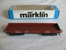 Vintage Marklin HO Scale Low Side Gondola Wagon Car w/ Box #4473 EX