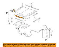 GMC GM OEM 07-14 Yukon XL 1500 Hood-Molding Trim 15137020