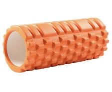 Foam Roller Deep Tissue Muscle Massager Trigger Point For Yoga Pilates orange