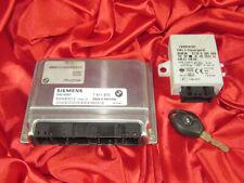 BMW E46 E39 E53 3 5 X5'ies 2.0i 3.0i M54 ENGINE ECU MODULE DME MS43 EWS KEY SET