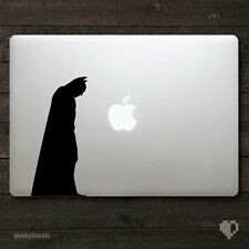 Batman inspired The Dark Knight silhouette Macbook Decal / Macbook Sticker