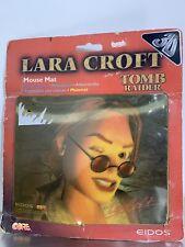 1997 Mousepad / Tappetino Mouse EIDOS 3D LARA CROFT Originale / Original NEW!