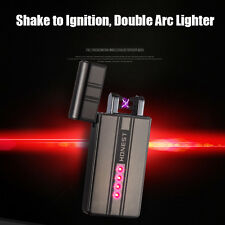 The Inferno Dual Beam Shake Lighter - No Gas, Wind & Water proof, Rechargeable