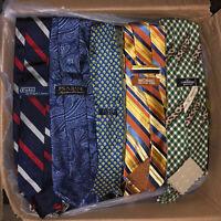 LOT of Men's Designer Neckties Ties *FREE SHIPPING* WHOLESALE Great Value!